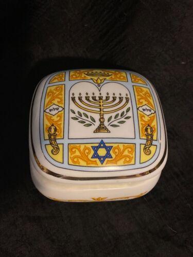 1988 Trinket Music Box, The San Francisco Music Box Company, Judaism, Hatikvah