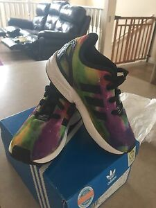 Toddler size 8 adidas shoes