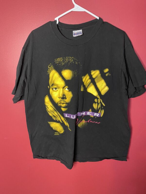 Vintage 1990 Luther Vandross Power Of Love Tour T-Shirt / Size XL