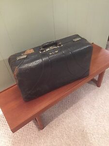 Antique McBrine Suitcase
