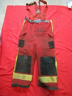 36 X 24 1994 Janesville Lion Firefighter Fire Pants Bunker Turnout Gear Vtg