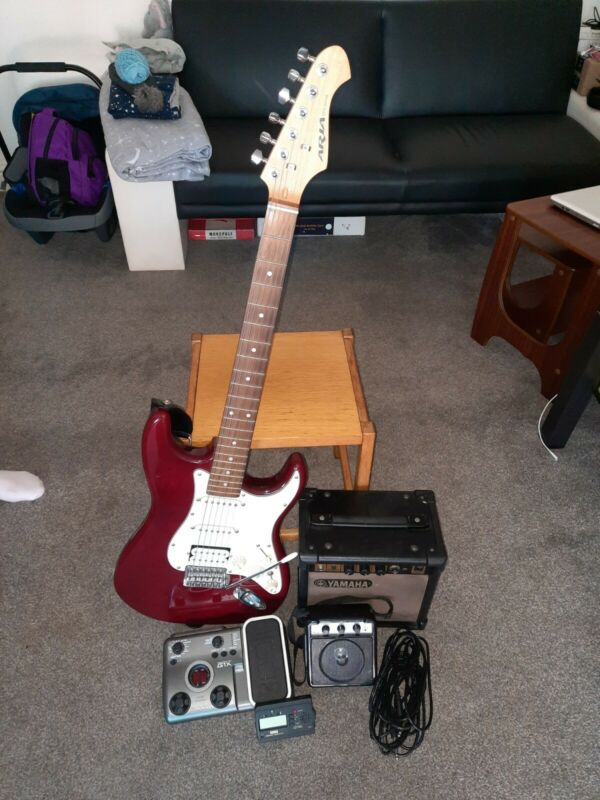 aria stg guitar