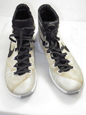 Light Up Nike Shoes (GR8!Nike basketball shoe Light comfy brown/White lace up 749561-100 sz 11.5)
