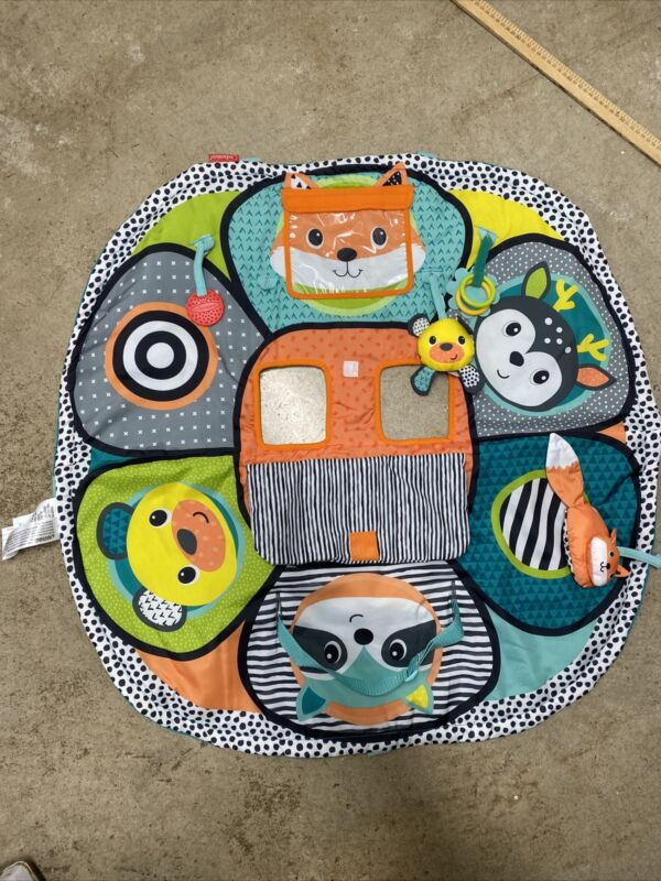 Cute 2-in-1 Grocery Cart Cover and Highchair Seat Cover for Baby (Fox)