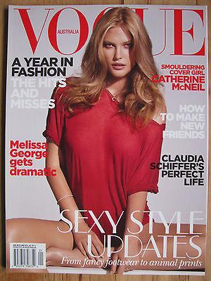 Vogue AUSTRALIA Catherine McNeil CLAUDIA SCHIFFER Melissa George Rosie Whiteley
