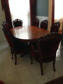 FRENCH PROVINCIAL DINING SUITE Burwood Heights Burwood Area Preview