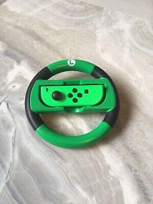 nintendo switch joy con controller left Side Mario Kart Green Good Condition