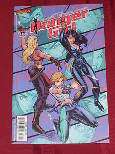 Danger Girl #1 NM Scott Campbell Image Comics 1998