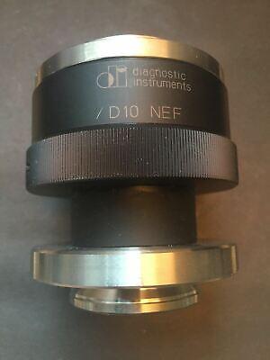 Spot Imaging Diagnostic Instruments Microscope Adapter D10 Nef Clamp Nikon F