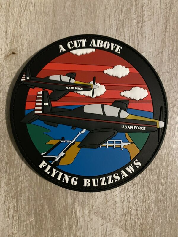 T-6 Patch, Columbus AFB, 41 FTS, Flying Buzzsaws, PVC