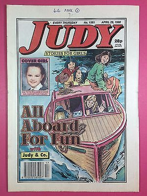 JUDY - Stories For Girls - No.1581 - April 28, 1990 - Comic Style Magazine