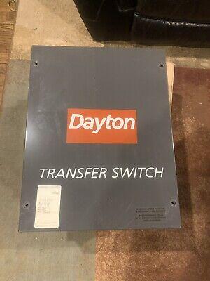 Dayton 1zc00b Automatic Transfer Switch 100a 250v Single Phase 09222-2 Generac