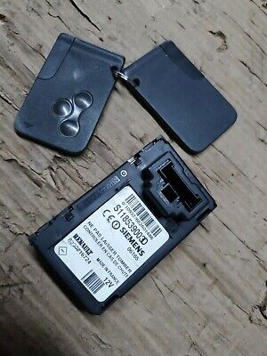 2003 - 2010 Renault Grand Scenic / Scenic. Card Reader Unit and 2 Cards