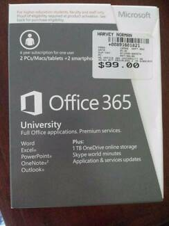 Microsoft office 365 University 4yrs subscription. Unopened NEW
