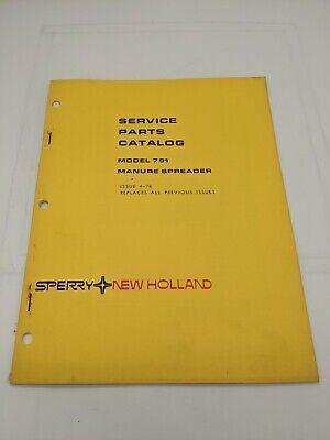 New Holland Service Parts Catalog Model 679 Manure Spreader 3-81