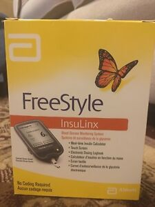 FreeStyle Insulinx with testing strips