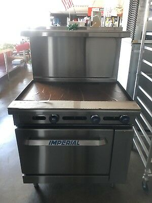 New Imperial Commercial Range Griddle Oven Ir-g36t