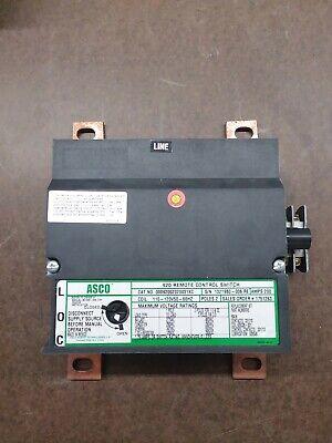Asco Lighting Contactor 200 Amp 120v
