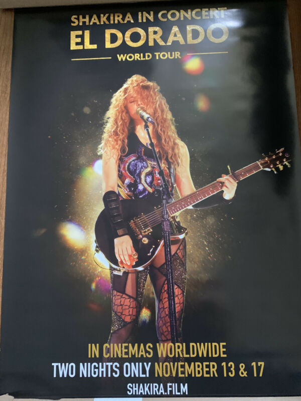 Shakira El Dorado Live Movie Poster 27x40