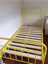 King single yellow bed frame Avalon Pittwater Area Preview