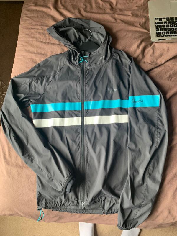 Men's Rapha x Team Sky Spray Hooded Jacket / Size L (Fits M)