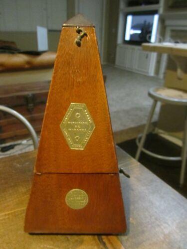 Paquet Metronome De Maelzel 1846-1865 E. Paillard & Cie RARE Antique Vintage