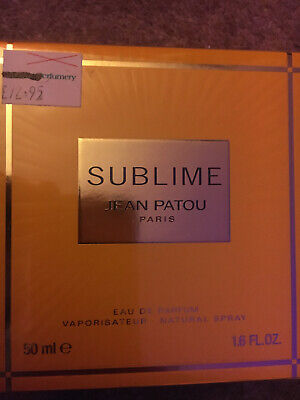 JEAN PATOU SUBLIME EDP 50ML £72.95 ON LABEL
