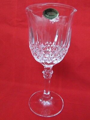 - Action/Zajecar Crystal Wine/Water Goblet 24 % Lead Crystal Stemware Yugoslavia