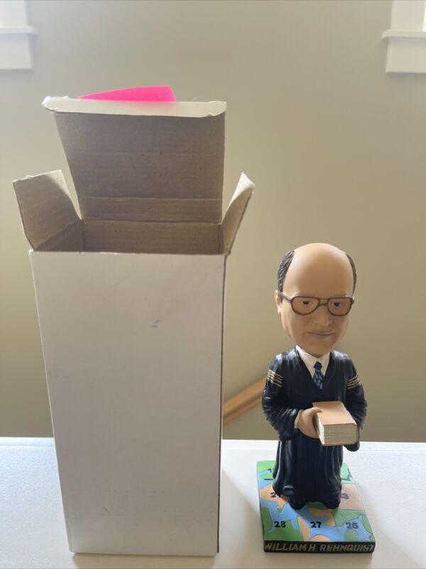 Supreme Court Justice William Rehnquist Green Bag Bobblehead - the original!