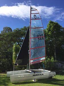 Nacra 4.5 - 2015 model Grange Brisbane North West Preview
