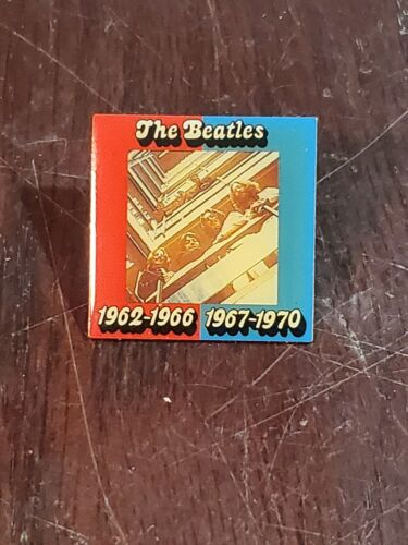 The Beatles 1962-1966 - 1967-1970 RARE Promo Pin