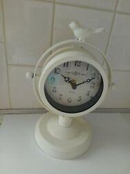 New Bird Metal Vintage Look Clock Table Top World Market