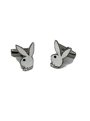 Playboy Bunny Cufflinks (Vintage 60's playboy bunny cuff links. Ready to)