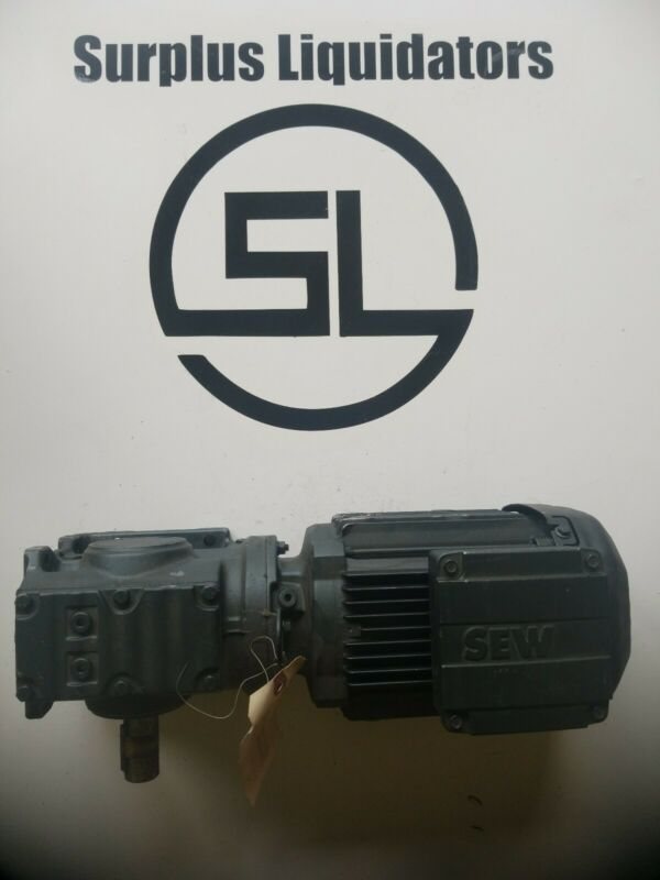 NEW NOS SEW-EURODRIVE GEAR-REDUCER 20:1 RATIO 1HP S47/A 80.1302902603.0001.12
