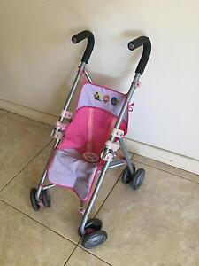 Baby Born Foldable Stroller Pram Shelley Canning Area Preview