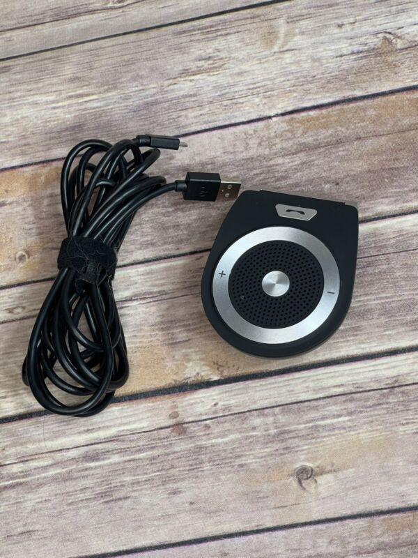 Amake Wireless Bluetooth Speaker Phone Visor Clip Receiver (Tested + Working)