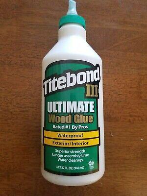 Titebond Iii Ultimate Wood Glue 32 Oz