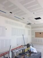 Drywall boarding and quality Muding and taping