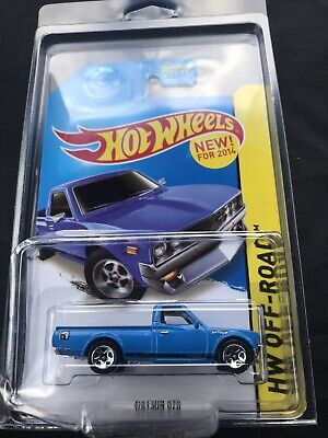 Hot Wheels HW Off-Road Datsun 620 Kmart Exclusive Color In Blue