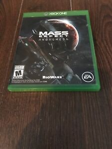 Xbox one game mass effect andromeda