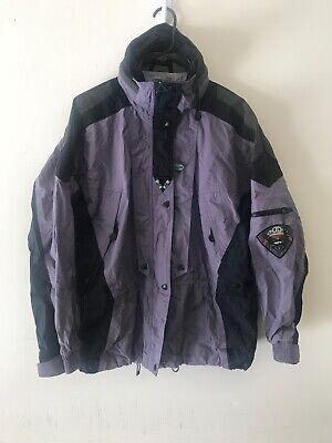 Vtg Helly Hansen Equipe AFV Purple Snowboard Ski Jacket Coat Parka Sz L