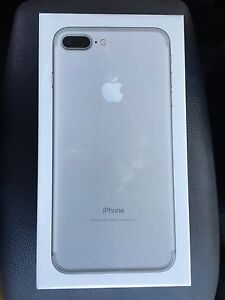 iPhone 7 Plus 128gb Silver *New Sealed Box* Mount Gravatt Brisbane South East Preview