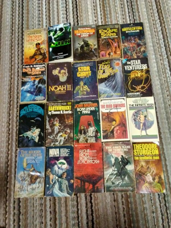 SCIENCE FICTION / FANTASY lot of 20 paperbacks
