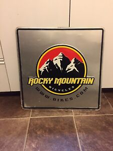 Rocky Mountain Bicycles Dealer Sign