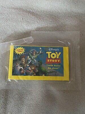 Vintage SEALED Toy Story Cinnamon Toast Crunch Flip Book rare Look Buzz an Alien