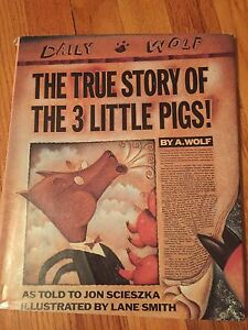 True Story of the Three Little Pigs- hardware