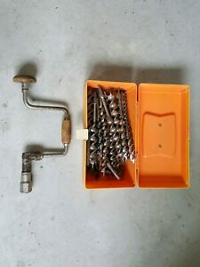 J.A. Chapman Brace and Bits by Stanley - Made in England.