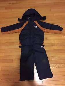 Oilers winter suit-size 4