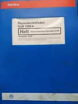 Reparaturleitfaden Automatisches Getriebe 01M Golf IV Bora DMC DMD DME DMF DMG gebraucht kaufen  Hemsbach