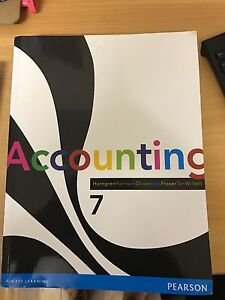 Accounting 7 text book Stockleigh Logan Area Preview